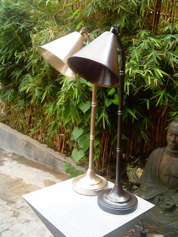 Lampu Stand Kuningan Tembaga