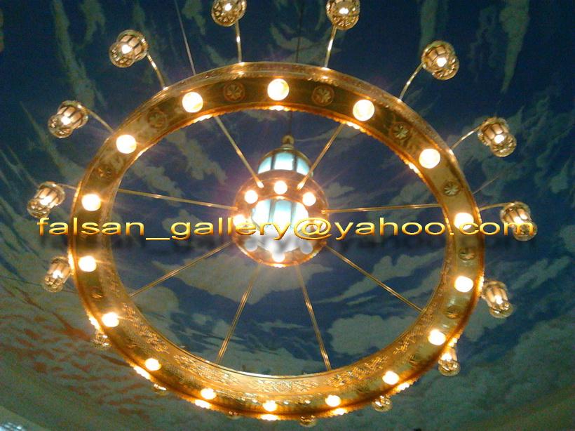 Lampu Gantung Masjid untuk Masjid di Indonesia