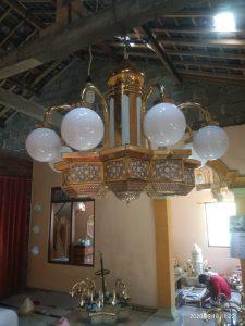 harga lampu gantung tembaga