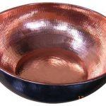 mangkuk tembaga antik