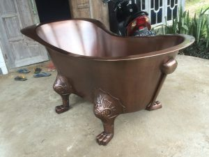 bathtub kuningan