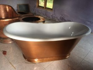 bak mandi tembaga