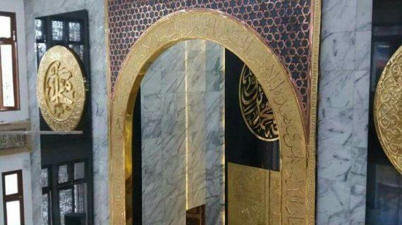 Ornamen Dinding Tembaga Hiasan Dinding Masjid