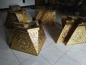 ornamen tiang masjid