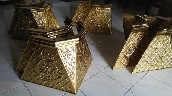 Ornamen Tiang Masjid Ala Masjid Nabawi