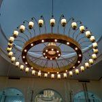 harga lampu gantung kuningan antik