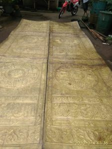 kaligrafi kuningan pontianak