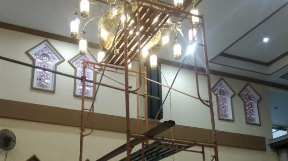 Lampu Gantung Masjid Minimalis Modern