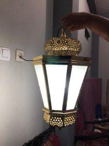 lampu gantung maroko