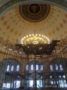 lampu hias gantung untuk masjid