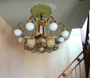 lampu gantung dari kuningan