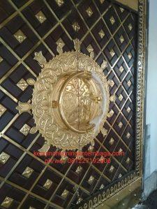 handle pintu kuningan antik