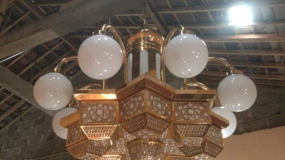 Lampu Hias Gantung Masjid untuk Interior Masjid