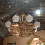 lampu kuningan antik