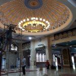 Lampu Robyong Tembaga untuk Hiasan Masjid
