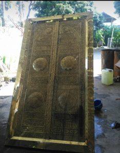 Harga kaligrafi kuningan di surabaya