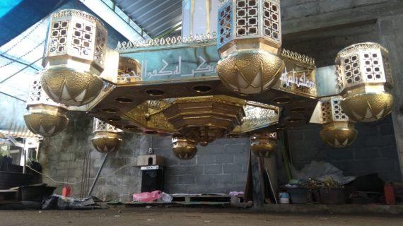 Lampu Robyong Masjid Buat Masjid Makin Cantik