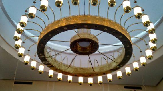 Lampu Gantung Masjidil Haram Mekah