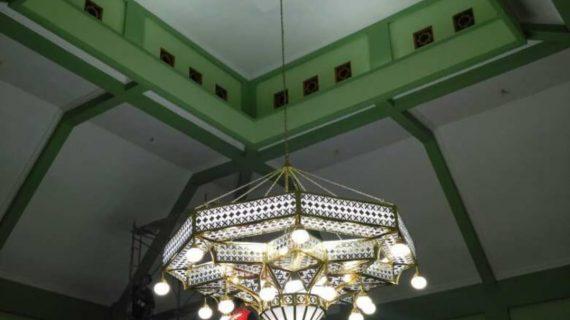 lampu gantung tembaga dan kuningan