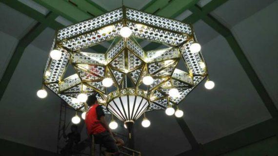 Jual Lampu Gantung Masjid Nabawi Interior Masjid Terkini
